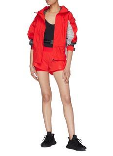 ADIDAS BY STELLA MCCARTNEY Run Ultra拼色设计连帽防风夹克