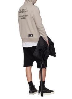 BEN TAVERNITI UNRAVEL PROJECT 标语印花纯棉连帽卫衣