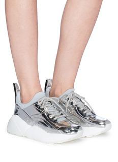 STELLA MCCARTNEY Eclypse金属感厚底运动鞋
