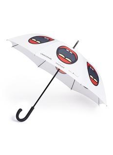 LANE CRAWFORD x Craig & Karl红唇图案雨伞