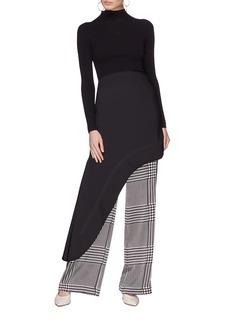 ELLERY Minimalism不对称流线型半身裙