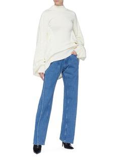 Y/Project 搭叠裤腿加长口袋牛仔裤