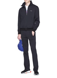 BALENCIAGA 品牌名称立领运动夹克