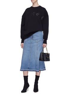 Alexander McQueen 品牌名称纯棉卫衣