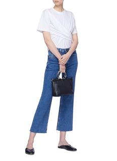 VICTORIA, VICTORIA BECKHAM 褶裥纯棉T恤