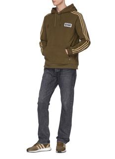 adidas x NEIGHBORHOOD 三重侧条纹品牌标志连帽卫衣