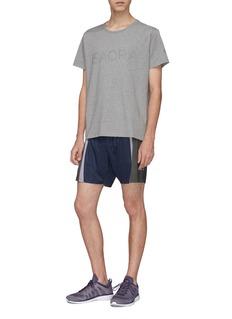 ISAORA Perfect反光波点品牌标志T恤