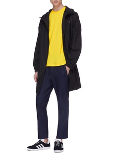 Y-3 斜纹布露踝休闲裤