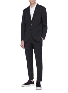 Alexander McQueen 骷髅头图案纯棉polo衫