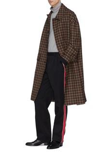 Calvin Klein 205W39NYC 针织布饰羊毛斜纹布长裤