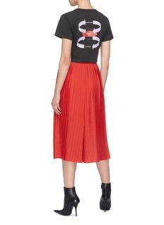 BALENCIAGA ego箭头印花品牌名称刺绣纯棉T恤