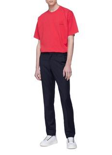 Balenciaga 品牌名称oversize纯棉T恤