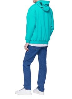 BALENCIAGA 品牌名称兜帽oversize卫衣