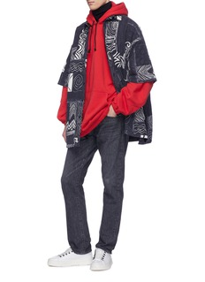 Balenciaga 品牌名称oversize连帽卫衣