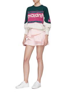 ISABEL MARANT ÉTOILE Gallian品牌名称拼色卫衣