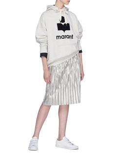 ISABEL MARANT ÉTOILE Mansel品牌标志oversize连帽卫衣