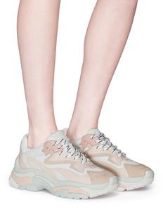 ASH Addict拼接设计oversize运动鞋
