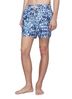 THE UPSIDE 扎染效果游泳短裤