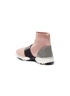 STELLA MCCARTNEY KIDS Cruz儿童款品牌名称针织袜靴式运动鞋