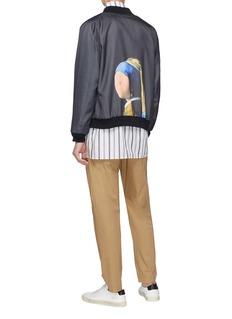 Pablo Rochat 两面穿弗米尔画作印花棒球夹克
