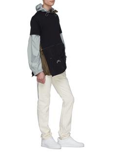 A-COLD-WALL* 拉链口袋开衩纯棉T恤
