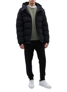 Templa 3L双层兜帽绗缝羽绒夹克