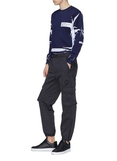 D.TT.K 拉链裤脚口口袋工装裤