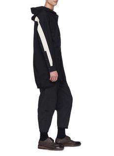 ZIGGY CHEN 拼接设计锥形休闲裤