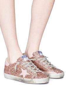 GOLDEN GOOSE Superstar五角星闪粉运动鞋