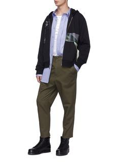 3.1 PHILLIP LIM Receipt收据照片印花鱼鳞布连帽外套