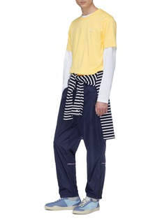 ACNE STUDIOS Nash L Face表情徽章纯棉长袖T恤