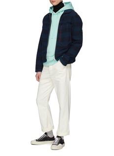 ACNE STUDIOS Norton立领美丽诺羊毛针织衫