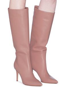 GIANVITO ROSSI Suzan 85纳帕小羊皮高跟长靴