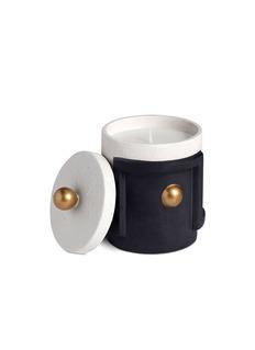 L'OBJET Cubisme拼色陶器罐香氛蜡烛