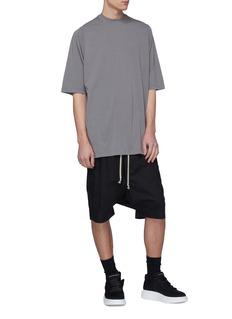 Rick Owens DRKSHDW oversize纯棉T恤