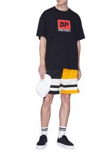 Daniel Patrick 品牌标志纯棉T恤