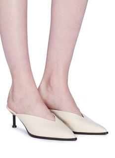 MERCEDES CASTILLO Noriko大头针鞋跟穆勒鞋