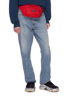 Balenciaga Explorer品牌名称帆布腰包