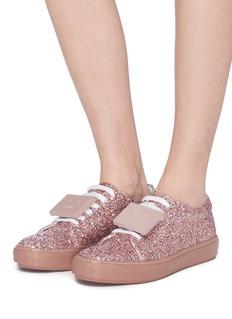 ACNE STUDIOS Adriana Spark表情缀饰闪粉运动鞋