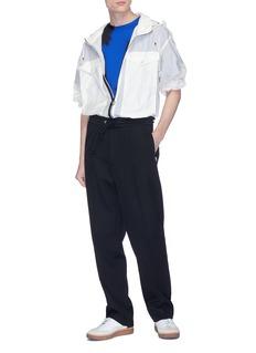 MAISON MARGIELA 植绒抽象图案纯棉T恤