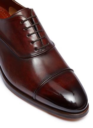 细节 - 点击放大 - Magnanni - 光滑真皮牛津鞋