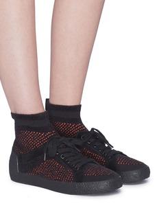 ASH Ninja针织高筒运动鞋