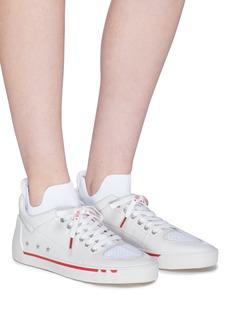 ASH Nippy五角星图案真皮运动袜靴