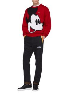 GCDS x Disney米老鼠及品牌名称混羊毛针织衫