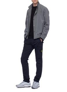 STONE ISLAND 修身棉混羊毛工装长裤
