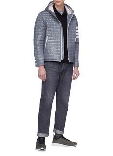 STONE ISLAND 品牌标志徽章棉质polo衫