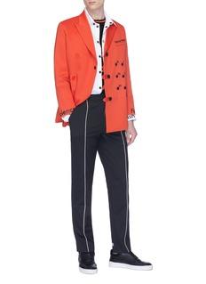 Staffonly 条纹直脚长裤