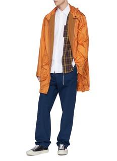 Marni 格纹羊毛布饰纯棉衬衫