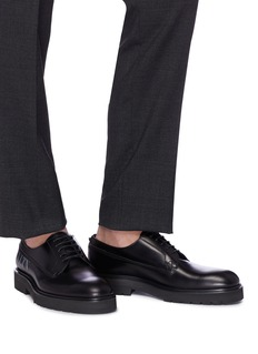Valentino VLTN印花真皮德比鞋