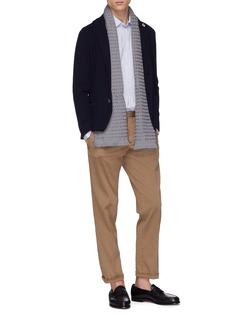LARDINI 条纹纯棉衬衫